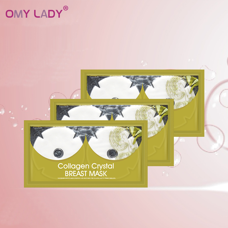 OMY LADY organic breast massage slimming mask sheet for breast firming lifting