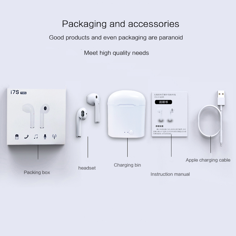 Headset Bluetooth 10 Years ODM & OEM Manufactory 3C Mobile Phone Accessories Headset Earbuds Wireless Stereo Bluetooth Earphone