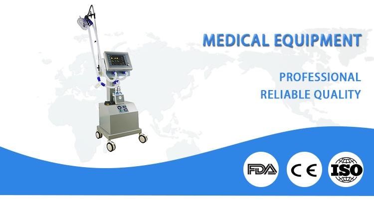 Medical Ventilator Breathing Medical Product Hospital Equipment With Air-compressor Adult Medical Ventilator Machine Price