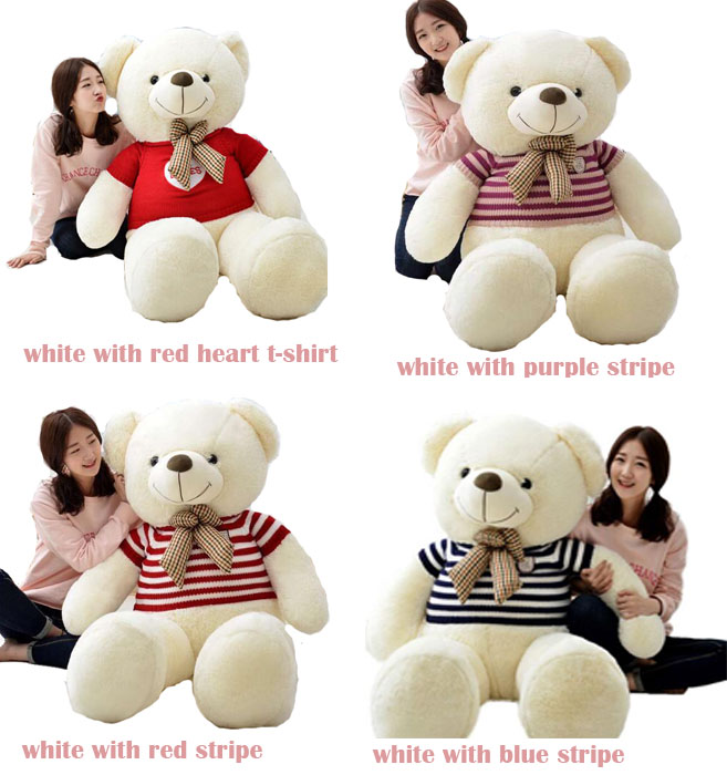 Wholesale Factory China Unstuff Soft Plush Big Giant Teddy Bear  Skin Plush Animal Bear Custom Cheap Giant Huge bear