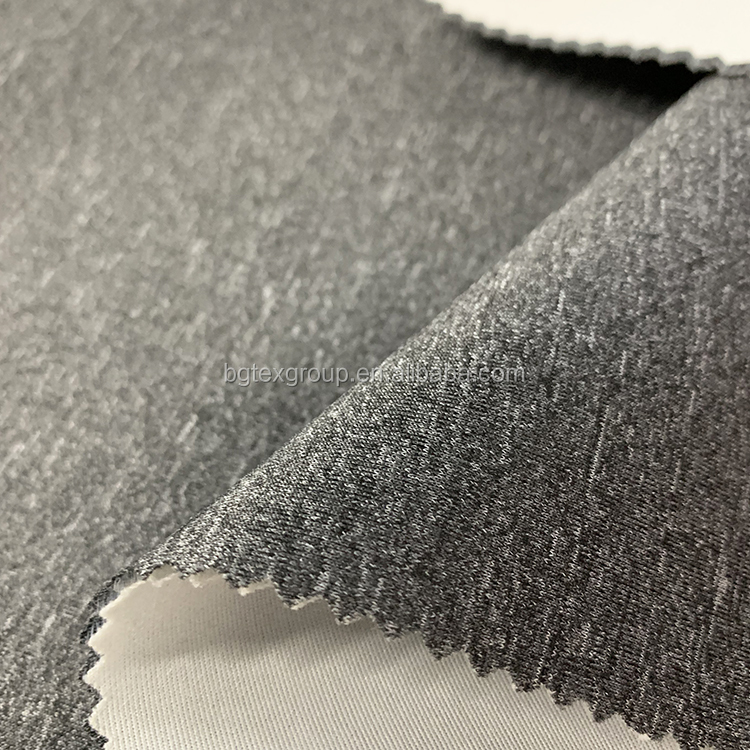 Heavy 100% polyester  air layer knitting fabric-1800300