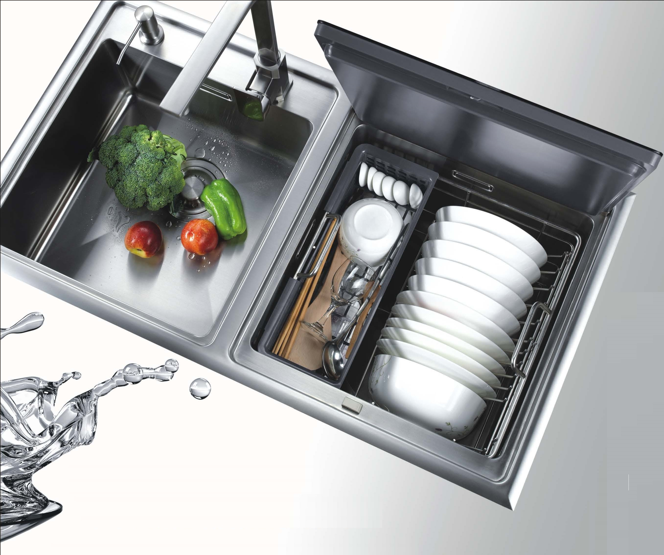 SENG kitchen appliance CE certified in sink dish washer machine for home