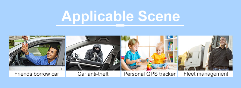 GF10 Personal Vehicle Real Time Tracking Magnetic Small GPS Tracker Locator