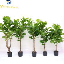 Violino <span class=keywords><strong>Foglia</strong></span> <span class=keywords><strong>di</strong></span> alta qualità indoor decor artificiale ficus albero <span class=keywords><strong>di</strong></span> banyan bonsai