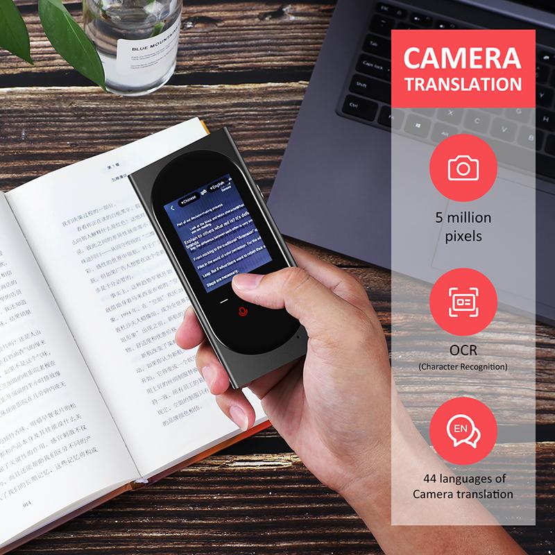 Vormor T10 2.4 ''akıllı ses tercüman 0.1 hızlı hızlı OEM/ODM Wifi anlık sesli çevirmen