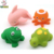 Cheap small cute sea animal bath toy for kids playing
