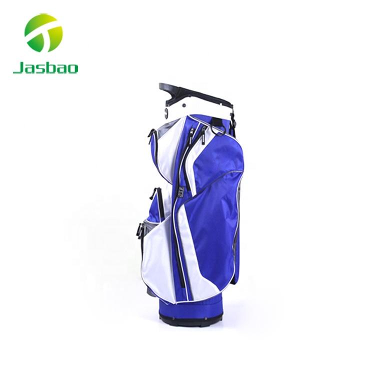 Blue Golf Cart Bag, Golf Caddy Bag, Golf Carry Bag