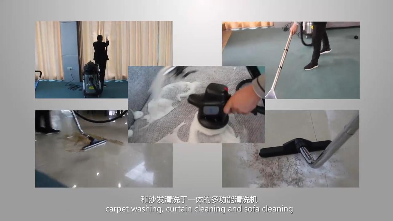 Aspirateur multifonctionnel de tapis de sofa de matelas de lavage intérieur de voiture commerciale pour des machines de nettoyage de tapis