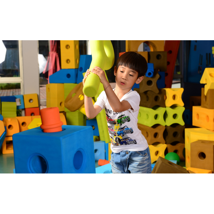 hot sale Best big EVA Foam Baby Blocks Preschool Building Construction Toys For Kids indoor playground equipment