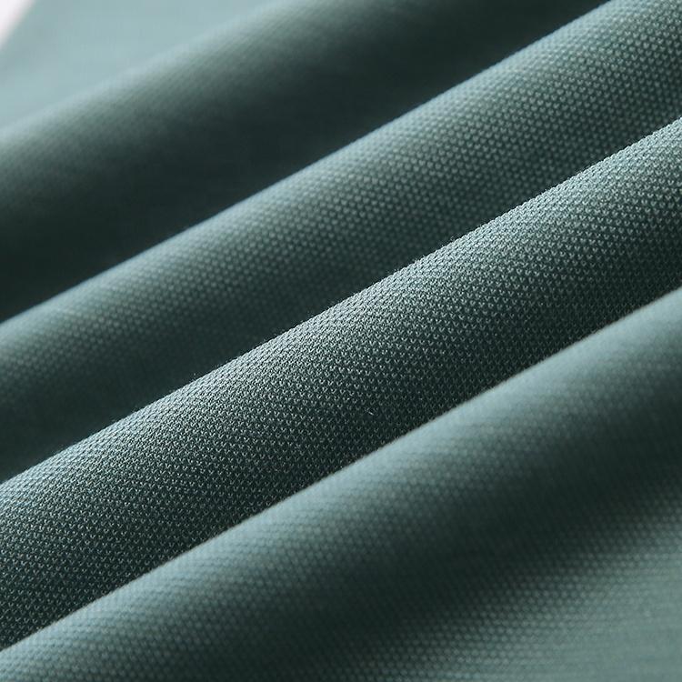 Оптовая продажа 15 шелк 85 хлопок пике хлопчатобумажные трикотажные ткани для рубашек