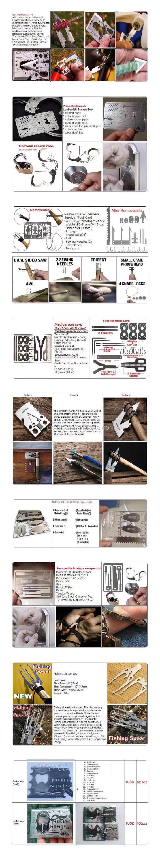 Hotsale multifunction के क्रेडिट कार्ड उपकरण के साथ पैसे क्लिप