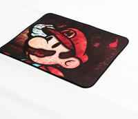 UFOGIFT High Quality Super Mario Beautiful Anime Mouse Mat Smooth Writing Pad Desktops Mate Gaming Mouse Pad