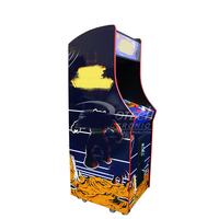 Video game machine 60 in 1 Retro Arcade 19 inch LCD Upright Classic Game Machine Coin Operated Games