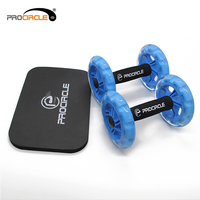 Abdominal Training Equipment Steady Double AB Wheel