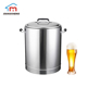 Superior quality stainless steel 5bbl 10bbl commercial equipment beer mash lauter tun with false bottom