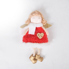 Wings Christmas Angel Hanging Tree Red Angels Wings Ornament Christmas Decoration