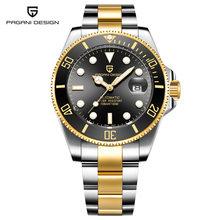 PAGANI дизайнерские деловые мужские часы Роскошные брендовые военные 100 м водонепроницаемые Rolexable автоматические механические часы Relogio Masculino(Китай)