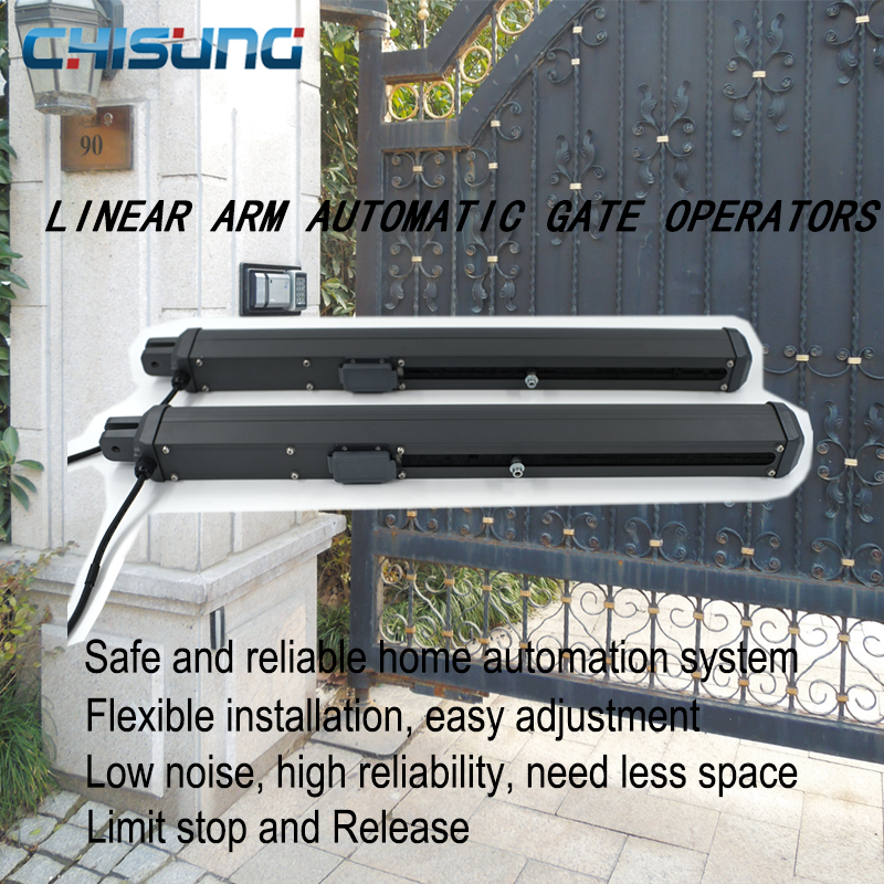 Fashion Style Best DC24V Electric Motor Automatic Swing Gate Opener in Gate Operators