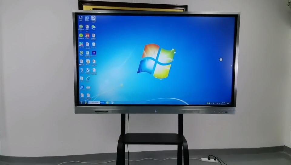 55 65 75 inç eğitim ekipmanları multimedya dokunmatik ekran dijital akıllı beyaz tahta