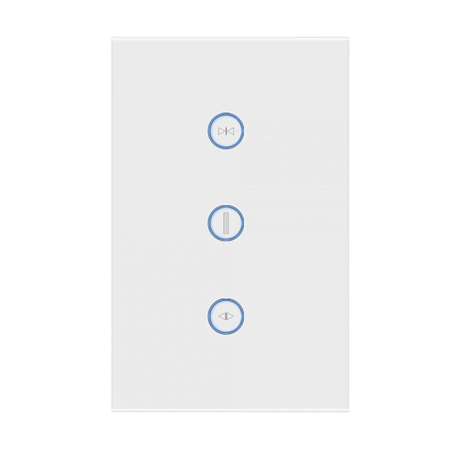 Tuya 3 Gang USA Alexa Google Work Home Hotel Wireless Remote Control Wall Push Button Smart WiFi Electrical Switch