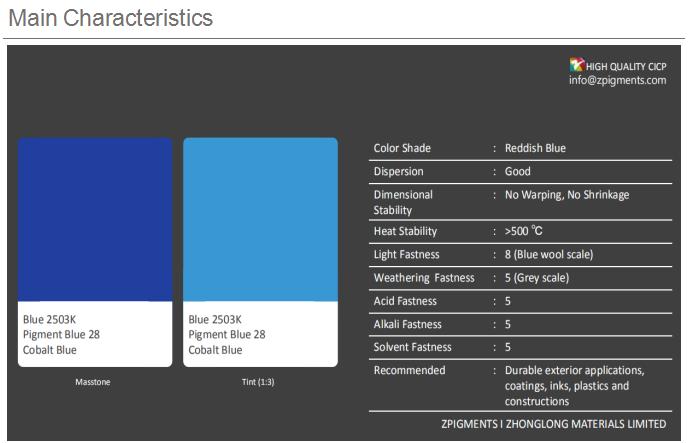 Nhà Máy Sắc Tố Cung Cấp, Cobalt Blue, Nhựa Màu Sắc Bột Sắc Tố Màu Xanh 28