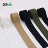 wholesale factory price High elasticity fold over elastic tape Fold elastic 5/8 nylon twill tape bias binding tape
