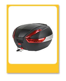 Vendita diretta della fabbrica di scooter scatola posteriore/popolare cassa posteriore dello scooter/scooter scatola di coda