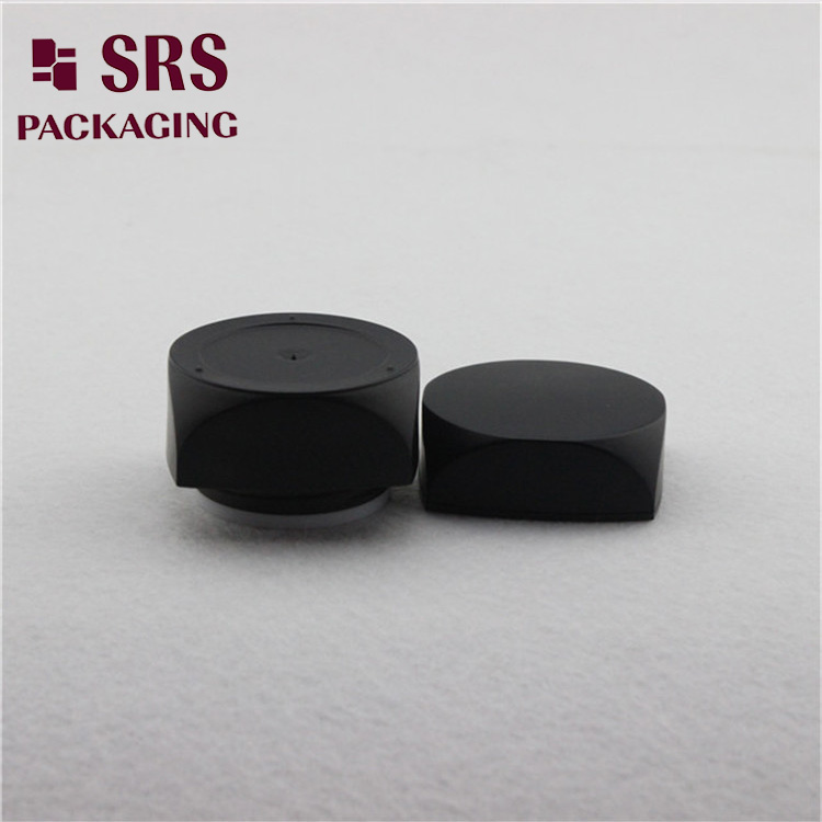 Square Shape Plastic 5g 10g Cream Containers And Acrylic Small Sample jar