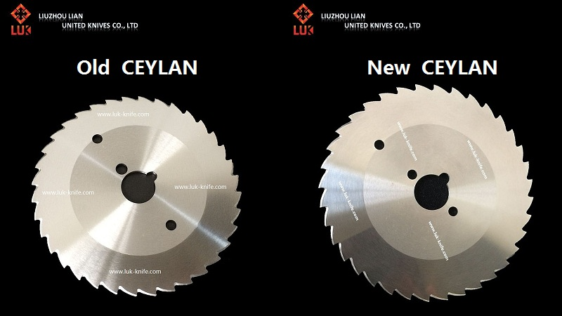 2020 New CEYLAN 80mm Halal chicken Serrated Blades for Electric Doner Kebab Knife