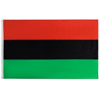 90*150cm Black Liberation Unia Pan African Afro American Flag