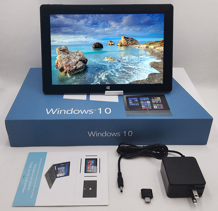Original Factory 2 in 1 Window s Tablet PC Computers 10.1 inches with 4GB Ram Option Dual Operation System N3450 CPU