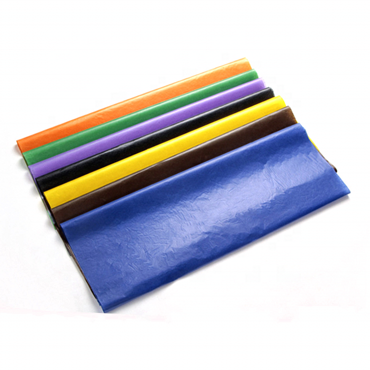Gift Wrapping Transparent Coloured Glassine Paper