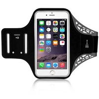 2019 Hot selling elastic reflective sport running cell phone armband arm band