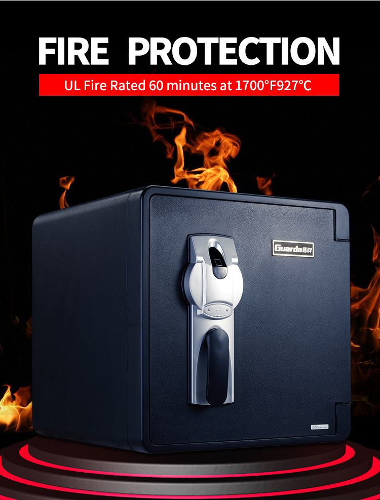 Guarda Top 1 hour fireproof safe factory for company-2