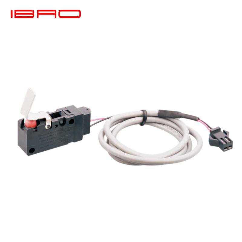 IBAO CNIBAO MAA مقاوم للماء سلسلة صغيرة المفاجئة عمل مايكرو التبديل subminiature مفتوحة عادة التبديل مع شريط الضغط