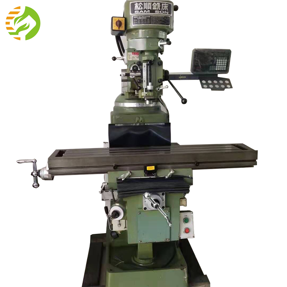 Used milling machine X2 bridgeport vertical milling and drilling machine