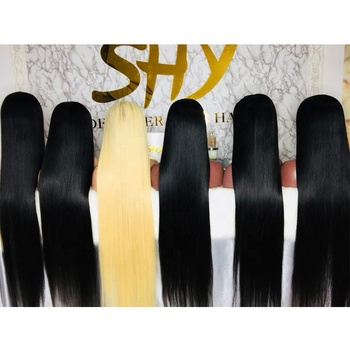 SHY LUXE WIG Top Quality 40 Inch Full Lace Wig Raw Hair Preplucked Glueless Human Hair Wig In Stock For Model Niki Style