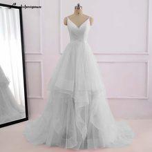 Романтичное белое пляжное платье в пол, длина спереди и сзади, 2019(China)