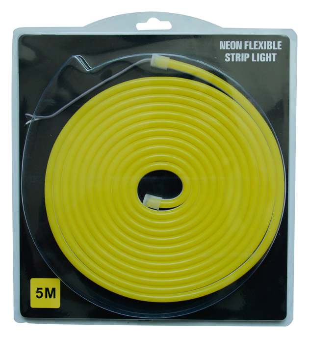 5m blister packing 8*16mm DC12V mini silicone soft cuttable flexible led neon strip