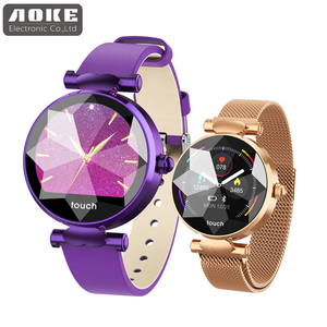 Welcome oem coupon waterproof fashion quartz mechanical wrist hand lady watch for girl/woman leather smart wrist watch women B80