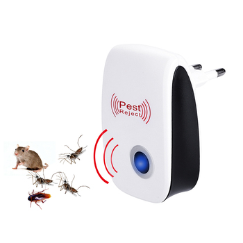 EU/US Plug Ultrasonic Pest Repeller Reject Electronic Repellent Killer Anti Mosquito Insect Repellent Rejector