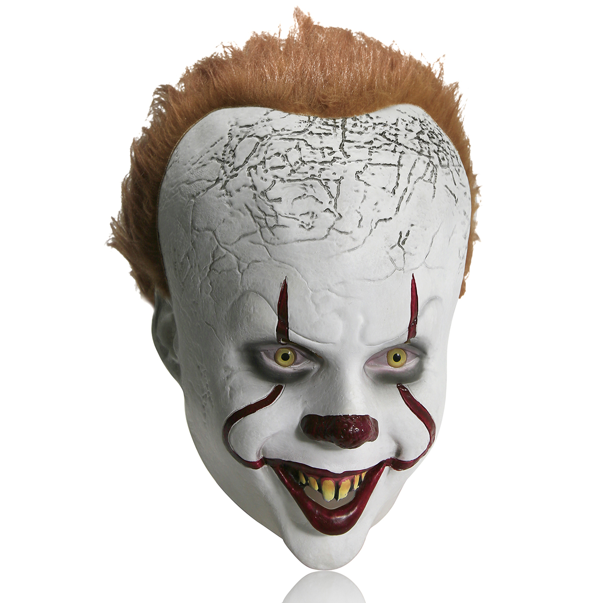 Halloween Pennywise Scary Clown Maske Kostüm Cosplay Party Dekoration Halloween Prop Erwachsene Kinder Spielzeug Trick Clown Maske