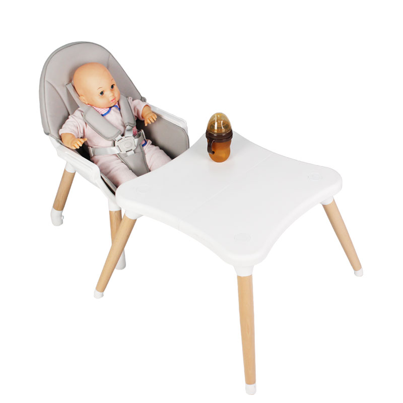 New Design Nordic Baby Sitting Chair, Baby Furniture Portable Baby Highchair/