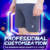 Super Skinny Fit Blue Denim Cotton Sexy In Compression Colorful Cheap Sports Men Casual Shorts