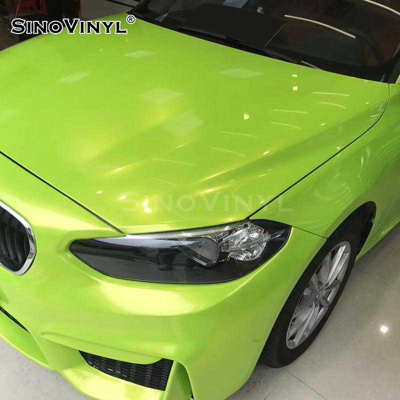 SINOVINYL Protective Color Change Gloss Car Body Wrap Paper Roll