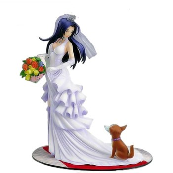 OEM Beautiful Bride in Wedding Dress Plastic Figurine