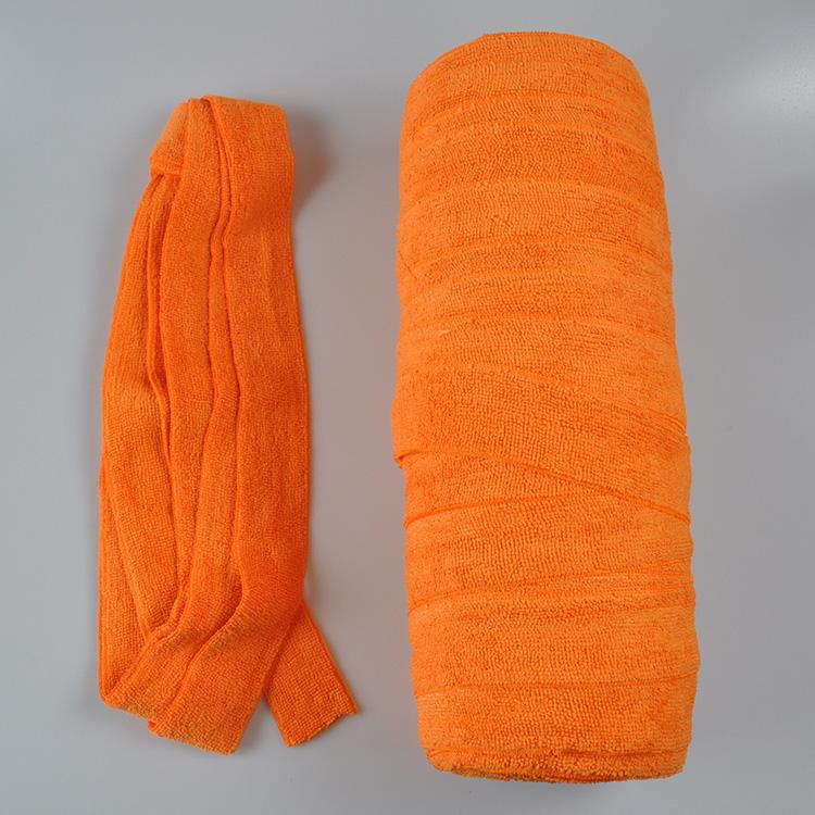 80%polyester 20%polyamide microfiber magic strip for mop making