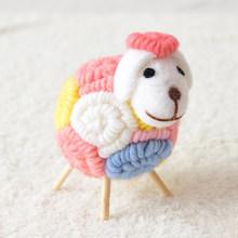 12 см инновационный шерстяной фетр в форме милой овцы, украшение для детской комнаты, мягкие игрушки, куклы Kawaii, плюшевые игрушки из Овцы альп...(Китай)