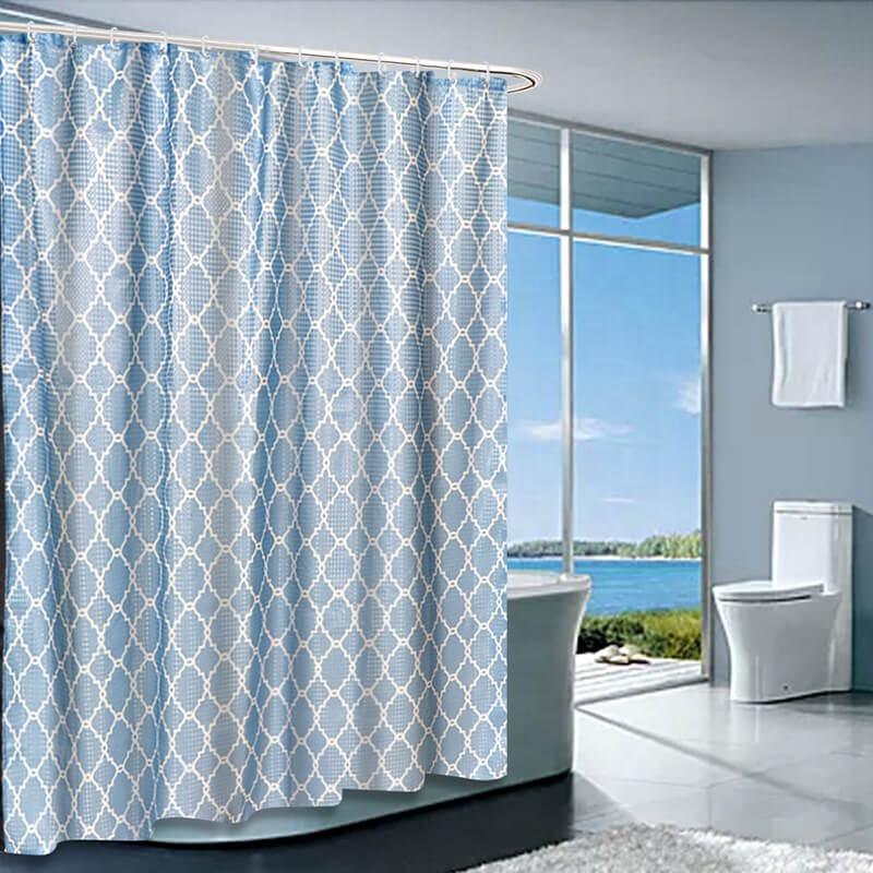 Je @ home Moderne couronne fleur polyester imperméable rideau de douche salle de bain