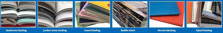 סין הדפסת שירות כריכה קשה כריכה רכה ספר הדפסת הוצאה לאור ספרות קטלוג הדפסה livre דה רושם
